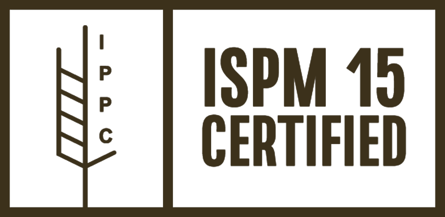 IPPC, ISPM 15 Certified Stamp